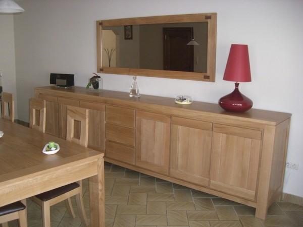 Bahut bas meubles et arts liffolois for Miroir dessus bahut
