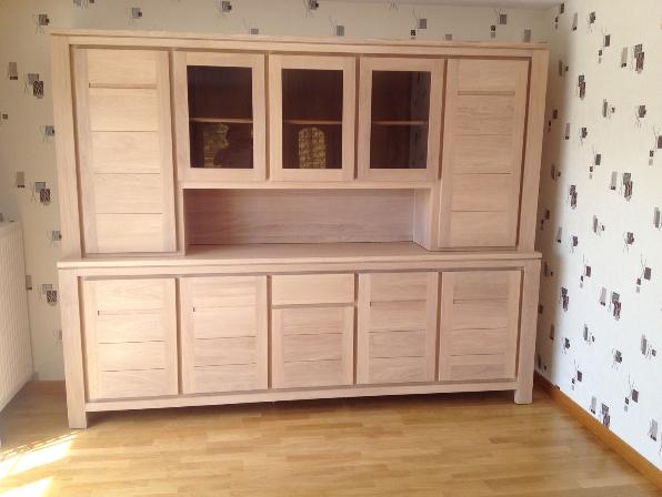 bahut en 2 corps meubles et arts liffolois. Black Bedroom Furniture Sets. Home Design Ideas